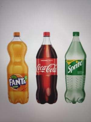 2 Liter Coca Cola/ Fanta/ Sprite Limonade