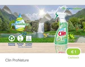 Clin pro nature Glasreiniger (0.73 Gewinn mit Payback und Marktguru)