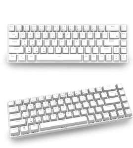 RK68 Wireless 65% Tastatur in Weiß oder Schwarz mit wählbaren switches