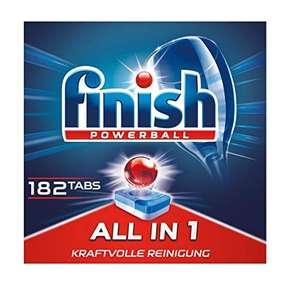 Finish All in 1 Spülmaschinentabs 182 Stk. im Spar Abo