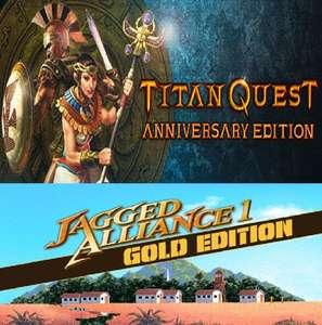 """""""Titan Quest Anniversary Edition"""" (Windows PC) und """"Jagged Alliance Gold"""" (Windows / MAC / Linux PC) gratis auf Steam ab 19 Uhr."""