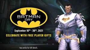 """DC Universe Online: Batman Day Gifts"" (Nintendo Switch / XBOX / PlayStation / Windows PC)"