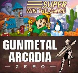 """""""Super Win the Game"""", """"Gunmetal Arcadia"""" u. """"Gunmetal Arcadia: Zero"""" 3 gute Retro PC Spiele gratis auf itch.io holen und behalten -DRM Frei-"""