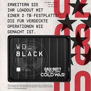 Western Digital BLACK P10 Game Drive Call of Duty 2 TB externe Festplatte