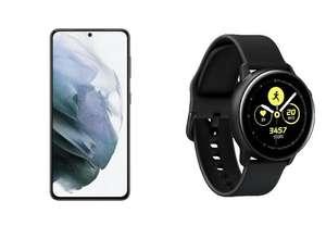 Samsung Galaxy S21 256GB 5G Phantom Grey + Samsung Galaxy Watch Active