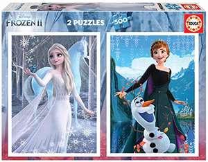 Die Eiskönigin 2, 2x500 Teile Puzzleset