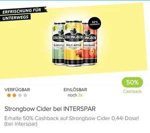 Bestpreis Strongbow Interspar + Marktguru