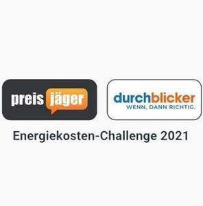 (Energiekosten Challenge 2021) Strom- und Gasanbieter wechseln - bis zu 800 € sparen