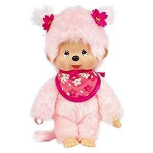 Monchhichi 24289 Kirschblüten-Mädchen 20 cm Rosa, Puppe