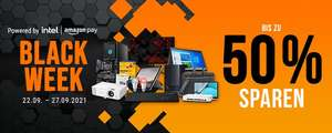 Notebooksbilliger Black Week 22. - 27.9.21, z.B. Kingston FURY Beast Schwarz 16GB Kit (2x8GB) DDR4-3200 CL16