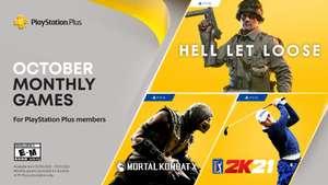 PS Plus im Oktober 21: Hell let Loose (PS5), PGA Tour 2K21, Mortal Kombat X (PS4)