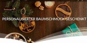 Gratis personalisierter Baumschmuck bei Kauf von 3 Seeberger Produkten