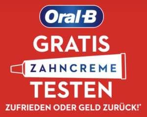 Gratis Oral-B Zahncreme