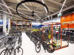 Hervis: 20% Rabatt auf alle Räder (außer e-Bikes)