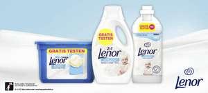 [Gratis Testen] Lenor Sensitiv Waschmittel und Weichspüler