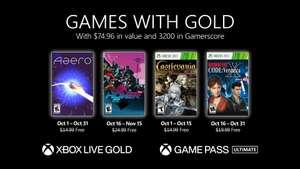 Games with Gold Oktober 21: Aero, Hover, Castlevania: Harmony of Despair u. Resident Evil: Code Veronica X (XBOX One / Series S X / 360)