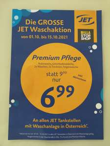 Premium Autowäsche bei JET