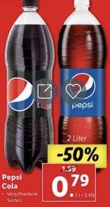 2 Liter Pepsi Cola um nur € 0,79