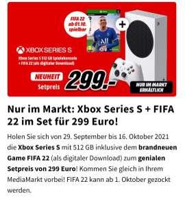 Xbox Series s + gratis Fifa 22