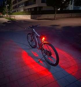 [Amazon Prime] FISCHER Twin Fahrrad-Rücklicht mit 360° Bodenleuchte um 6,85€