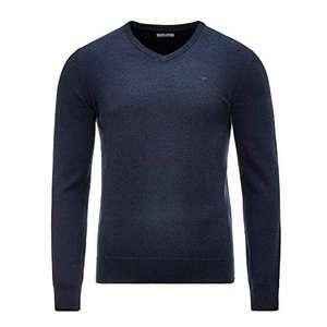 TOM TAILOR Herren Basic V-Neck Pullover in Größen S - 3XL
