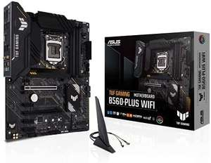 ASUS TUF Gamng B560-Plus WiFi Mainboard Sockel Intel LGA 1200 (ATX, 2x M.2, HDMI 2.0, Intel WiFi6, Thunderbolt 4, PCIe 4.0, Aura Sync)