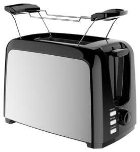 Deski Toaster mit 6 Bräunungsstufen (750W)
