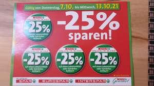 -25% Pickerl für Spar, Eurospar und Interspar sowie Gourmet-Spar von 7. - 13.10.2021