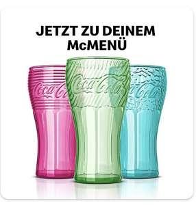 McDonald's: Gratis Coca Cola Glas zum McMenü