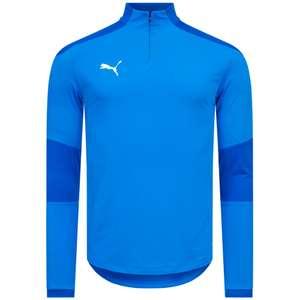 PUMA teamFINAL21 1/4 Zip Herren Sweatshirt in 5 verschiedenen Farben