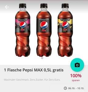 Scondoo: 100% Cashback auf 2x Pepsi Max 0.5l