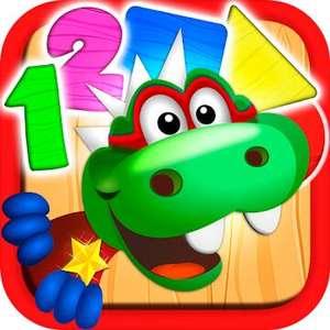 """""""Dino Tim Vollversion: Spiele Formen Farben"""" (Android/iOS) gratis im Google PlayStore od. Apple AppStore - ohne Werbung / ohne InApp-Käufe -"""