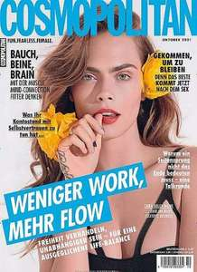 Cosmopolitan 12 Monats Abo (Print), gratis
