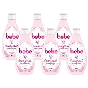 6x 250ml Bebe Duschgel, Soft Shower Cream