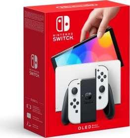 Nintendo Switch OLED, schwarz/weiß od. rot/blau