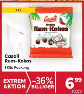 1 kg Casali Rumkugeln um 6,99 bei Billa-Plus ab 14.Oktober