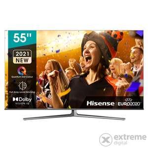 Hisense 55U8GQ 139cm 4K UHD Smart ULED Fernseher