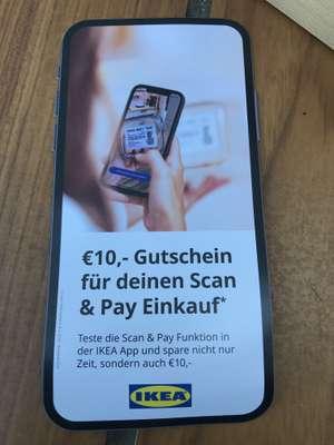 10€ Ikea Gutschein ab 50€