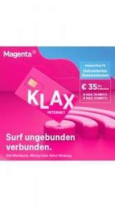 Neuer Klax Internet Tarif-Internet Klax 70