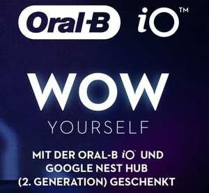Gratis Google Nesthub bei Kauf einer Oral-B iO 6-9