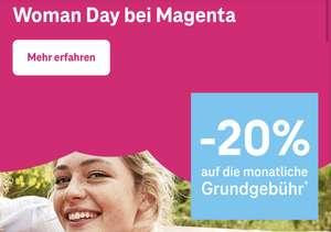 Magenta: 20% Rabatt auf fast alle Mobilfunk, Internet + Tv und Internet Tarife für 2 Jahre