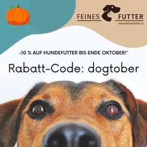 FeinesFutter: 10% Rabattcode auf Hundefutter