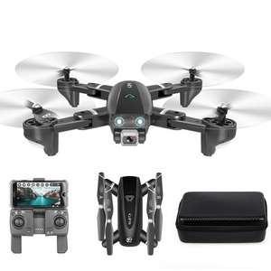 CSJ S167 Drohne mit drei Akkus, GPS, FHD Kamera, 2,4Ghz Fernsteuerung und WLAN-Bildübertragung