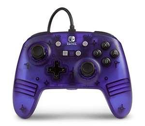PowerA Nintendo Switch Enhanced Wired Controller (Purple Frost) für 14,99€ (Amazon Prime)