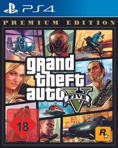 Grand Theft Auto V (Premium Edition) oder Red Dead Redemption 2 für 17,54€ Ps4