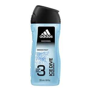 5x adidas Ice Dive für Männer 3in1 Duschgel 250ml