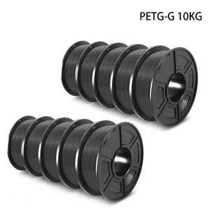 10x 1kg-Rollen Sunlu PETG-G Filament für 3D-Drucker (1,75mm +/-0,02mm)