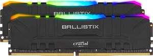 Crucial Ballistix 16GB (2x8) RGB DDR4-3600 Black CL16 RAM Arbeitsspeicher (Bestpreis laut geizhals)