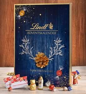 Lindt Adventkalender inkl. 2 Müller Einkaufscoupons mit mind. 5€