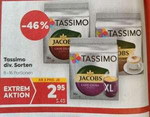 [Billa] Tassimo diverse Sorten ab 3Stück nur 2,95€
